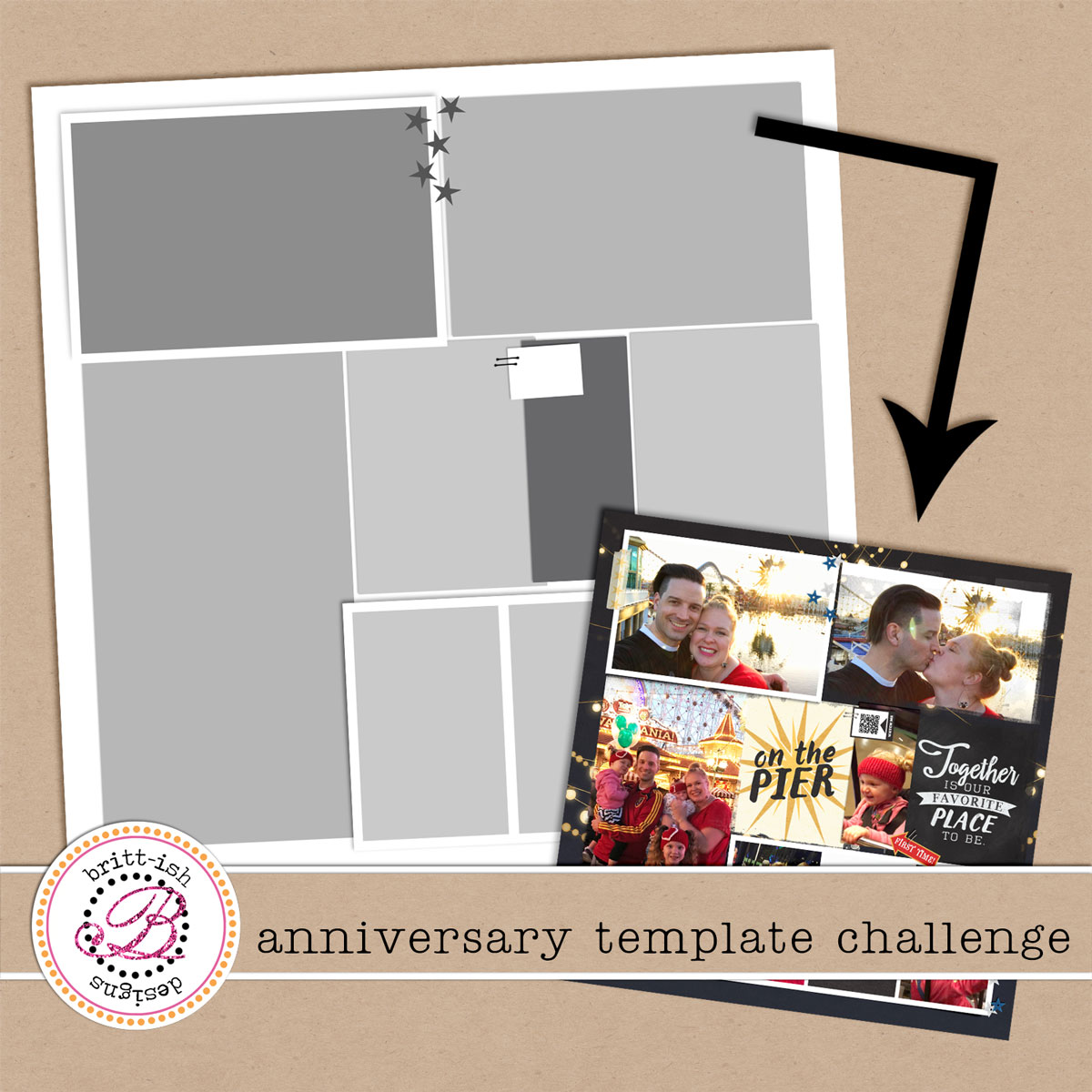 Anniversary Celebration | Template Challenge!