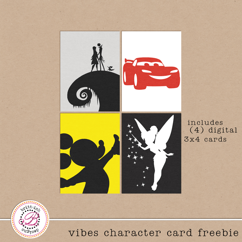 Project Mouse (VIBES) – Kit, Journal Cards and FREEBIE